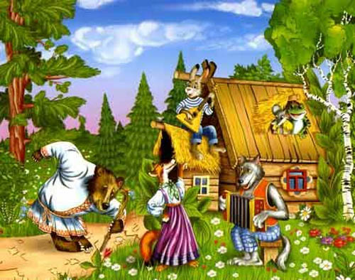 стихи о сказках для дошкольников