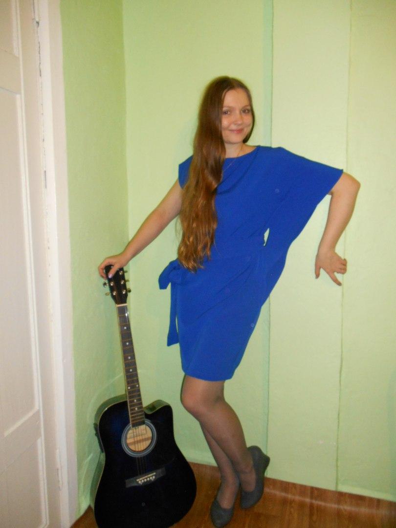 Девушка как гитара стихи