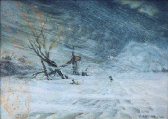 Рисунки буря