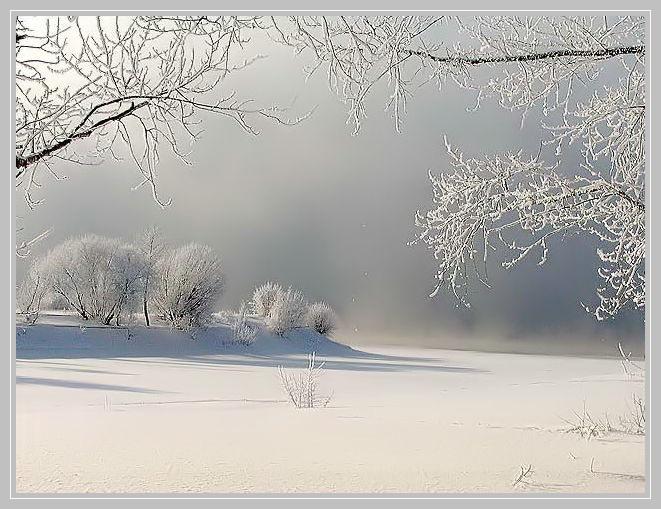 Зимний пейзаж 5 Зимний пейзаж.