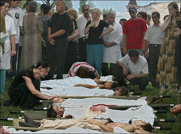 """Погибшие заложники  """" Ассоциация жертв террористических актов  """"Матери Беслана."""