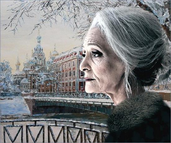 фото старой женщины
