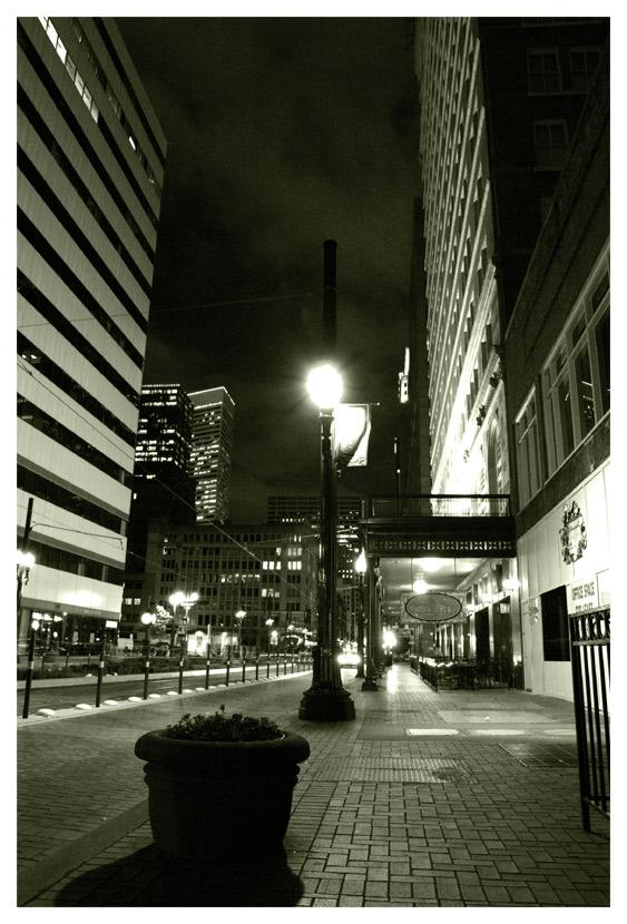 Там где кончается улица начинается свет