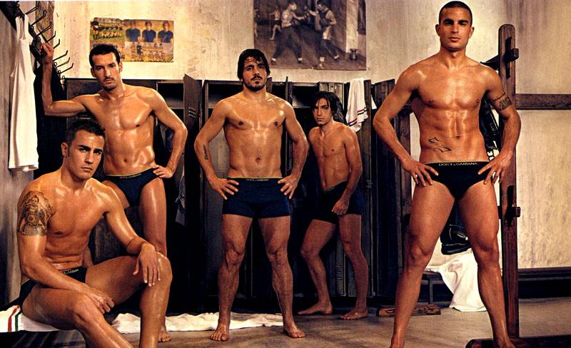 фото футболисты голые