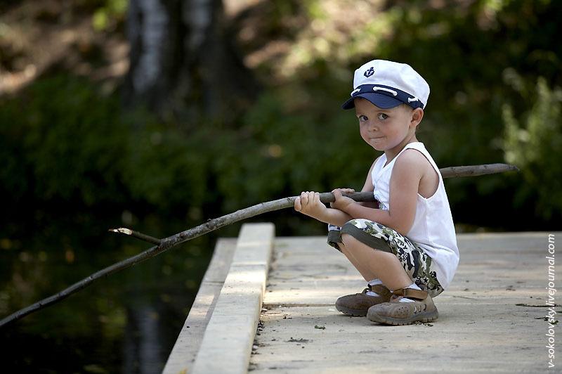 конкурс для детей рыболовы