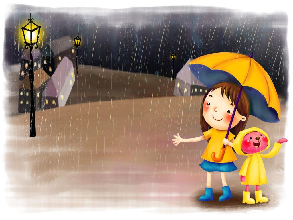 rain essay for children