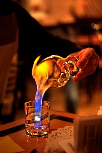 Огненная вода.