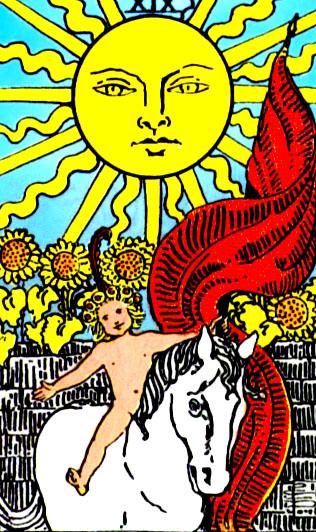 Солнце карты таро значение