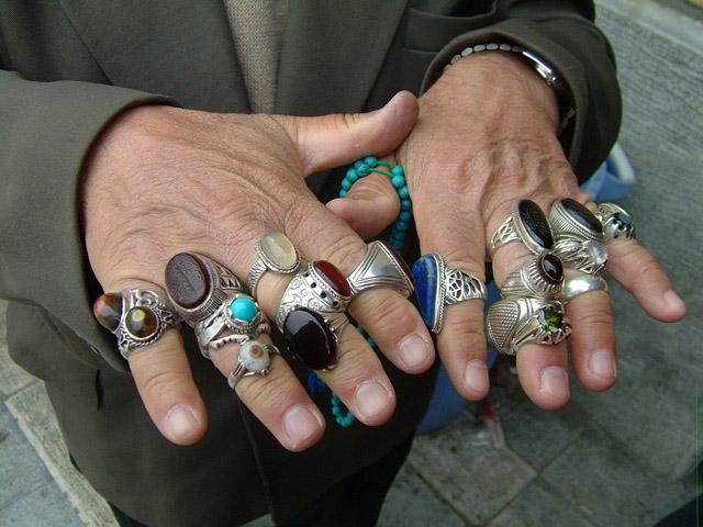 Крупные кольца своими руками 546