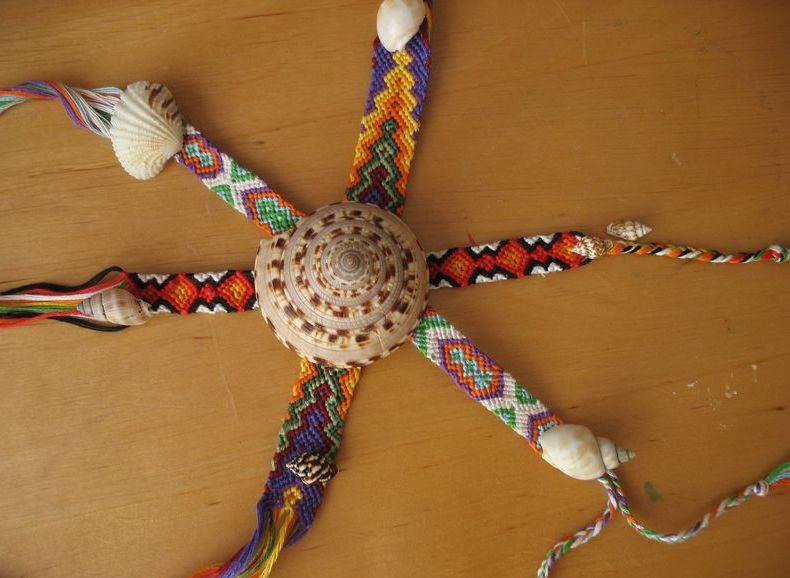 Фенечки из мулине с животными - Делаем фенечки своими руками.