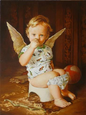 А ангелы оказывается рядом!  Год создания 2008.