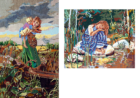 Две картины (Наталья Шалле)