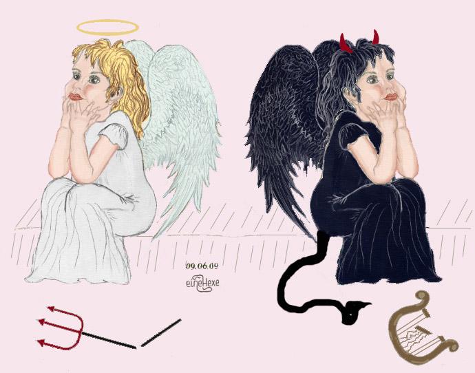 Картинки ангелы и черты