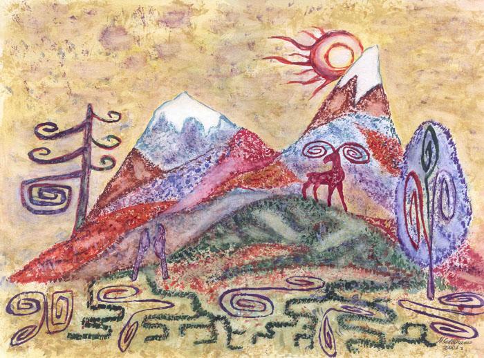 Баян-Сулу и Козы-Корпеш 4 часть Сказка для Юли.