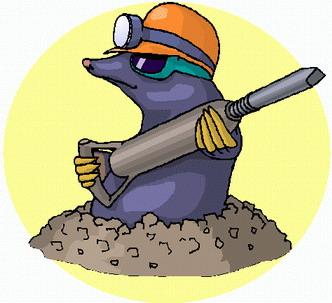 Подземный работяга - Крот