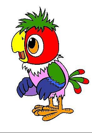 картинки попугай кеша
