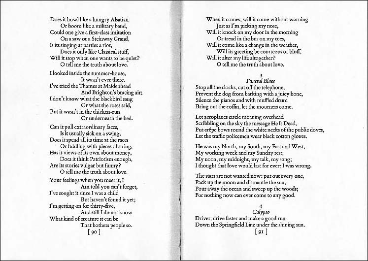 an analysis of the poem the funeral