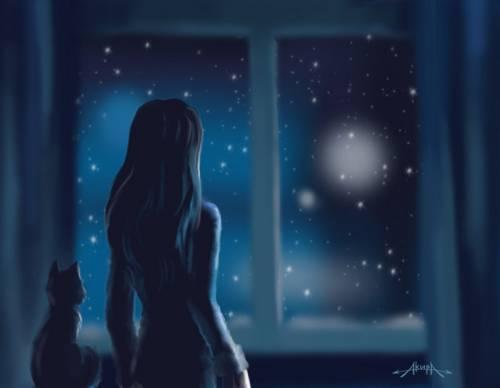 ночная анимация