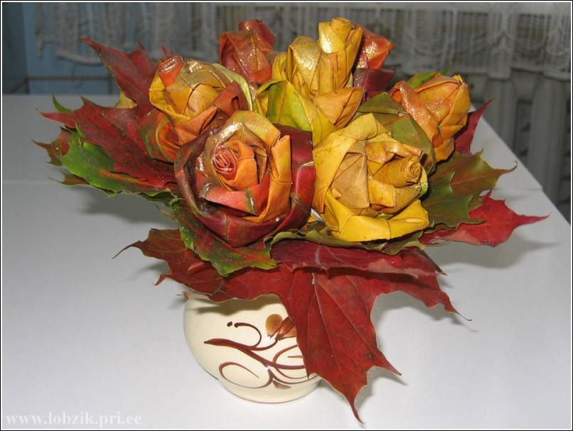 Роза поделки своими руками