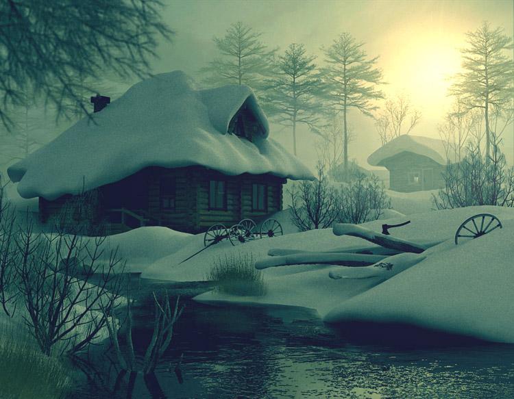 ветер не ветер иду из дома в хлеву знакомо хрустит солома