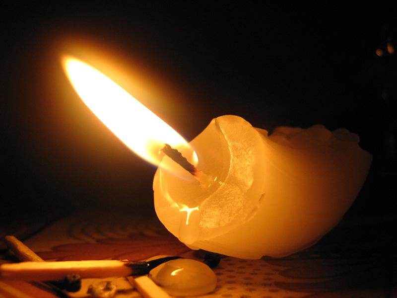 свечка упала на портрет к чему эфире песни красивые