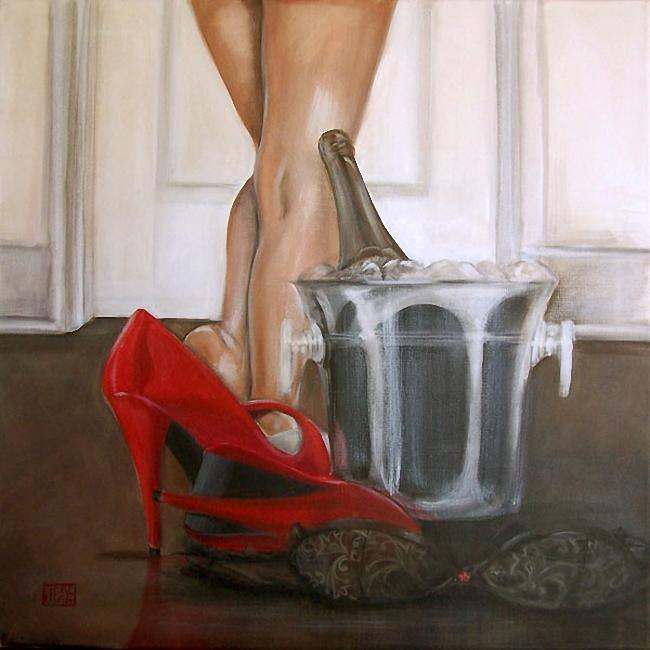 Женская доминация красные туфельки фото 490-933