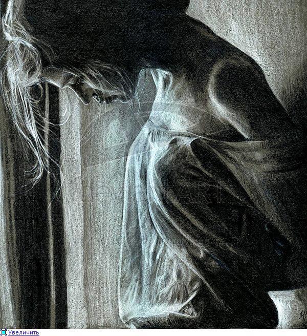 картинки грустная девушка
