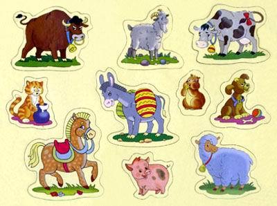 Домашние животные сказка для малышей