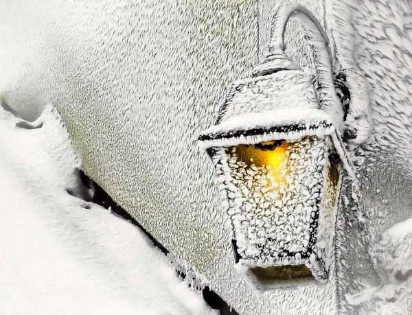 Эскиз зимы