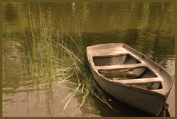 лето чертик лодка
