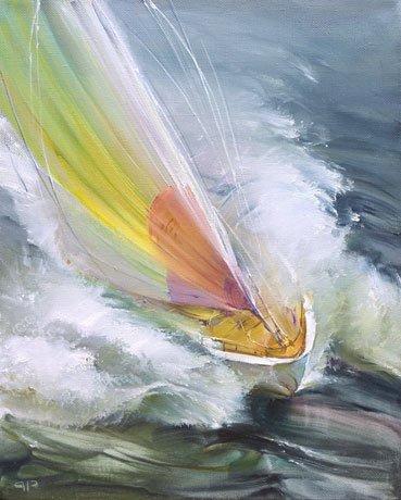 мы ловим ветер всеми парусами