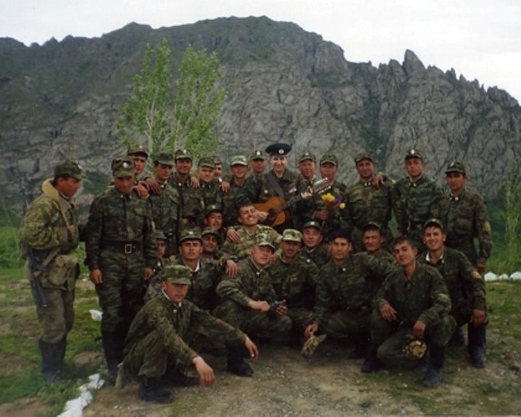 Хурзук фото военная часть пограничников