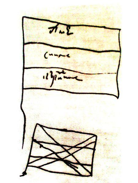 Рисунки флагов сделанные петром i из