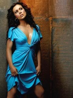 Стих-про голубое платье