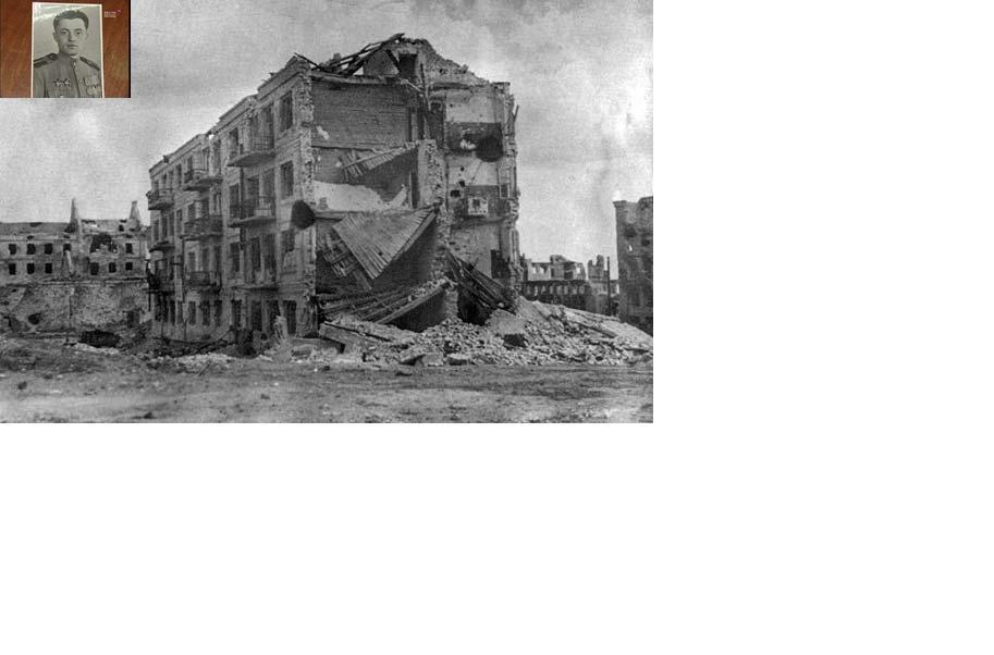 Дом Солдатской Славы) - 4-этажный жилой дом в центре Волгограда, в