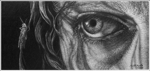 Как рисовать глаз.