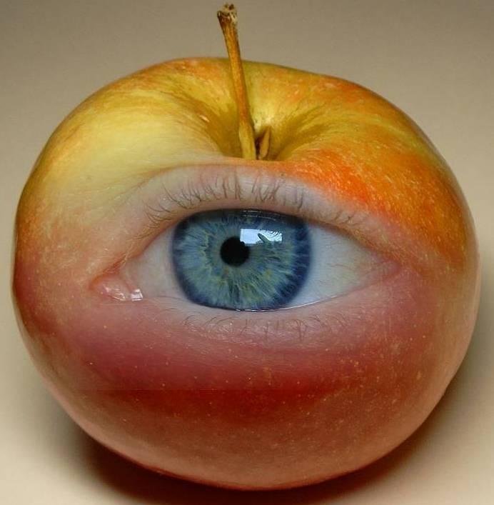 Глазные яблоки своими руками