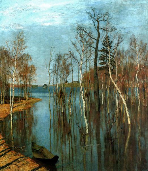 Весна- большая вода- картина Левитана ...: www.stihi.ru/2010/03/27/6207