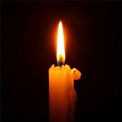 Траурные фото свечи