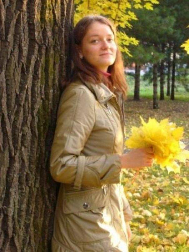 Изображение девушки осени картинки