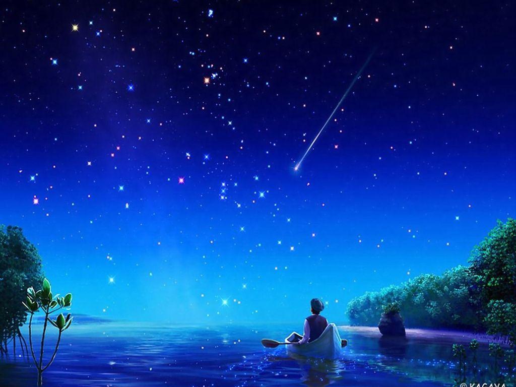 Звёзды украсили небо ночное