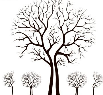 Деревья в векторе eps preview 10 mb vectors