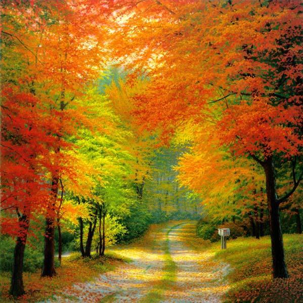 Осень в парке лилия римм 2 стихи ру