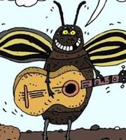 Днем, колорадский жук смешная картинка