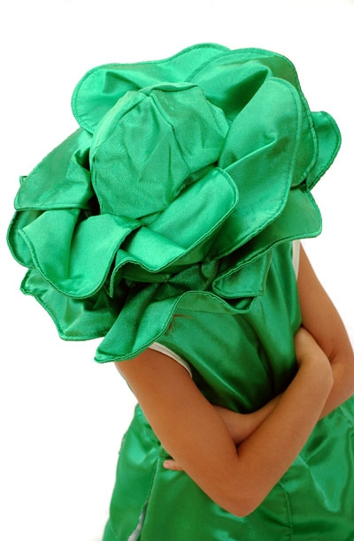 Капуста из ткани