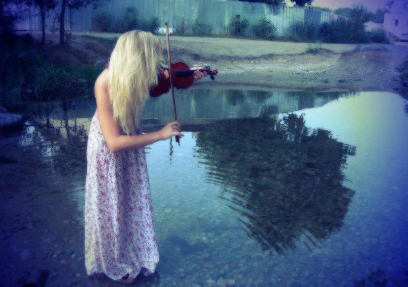 фото красивых блондинок на море