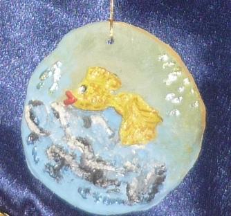 Детские поделки. Золотая рыбка (Надежда Лисогорская ...