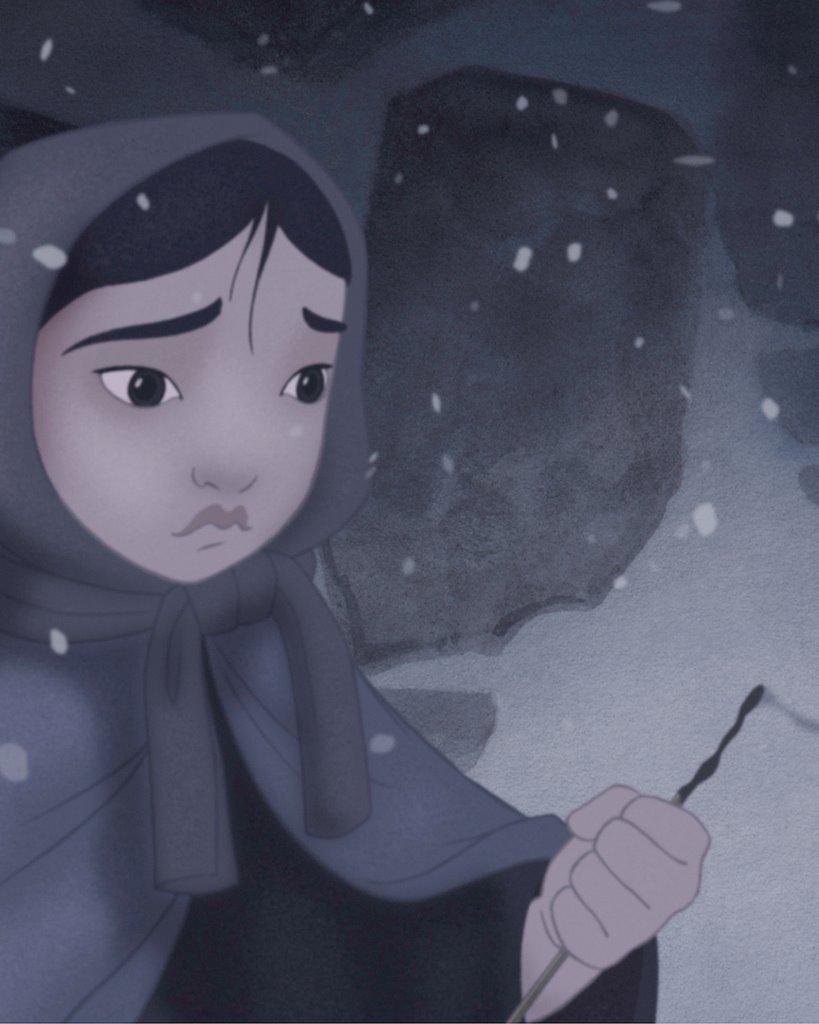 Грустный мультфильм студии Walt Disney о девочке, продававшей спички.