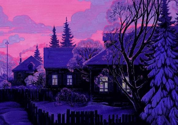 облепиху картинка бунин помню долгий зимний вечер улитка теста