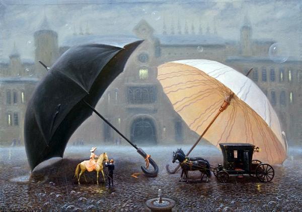 дождь. осень. фото